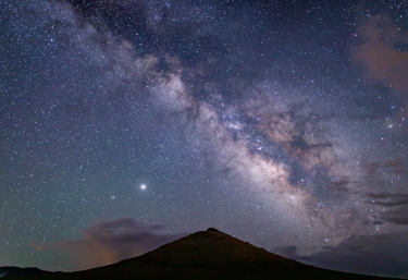 Mother Earth (Round Mountain) and Milky Way, 2020